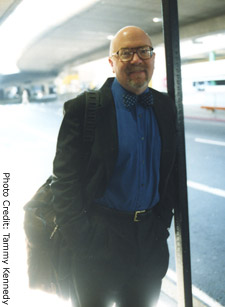 Doug Dyment at San Francisco Airport